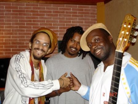 exXÒs, Wyclef Jean & Stanisky 4 Admiral T @ SonguArt studio